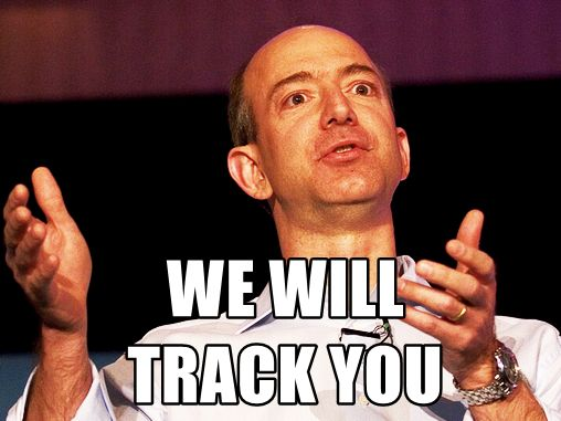 Jeff Bezos will track you