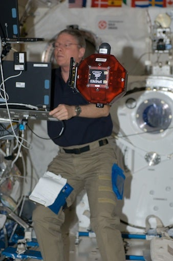 NASA astronaut Mike Fossum