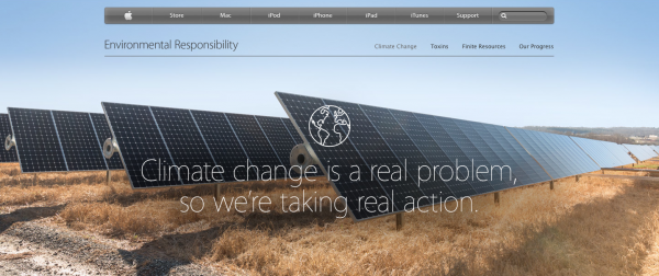 5 steps to save the planet, Earth Day, Apple special