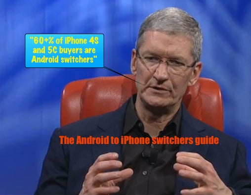 The Android to iPhone switchers guide