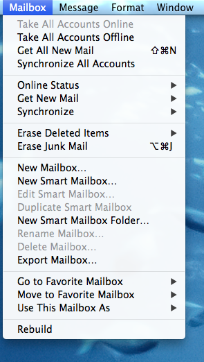 How to fix Apple Mail