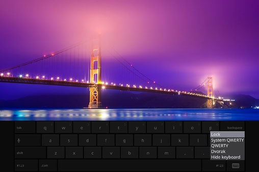 Chromebook Virtual Keyboard
