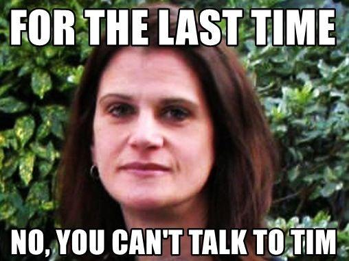 Katie Cotton quits