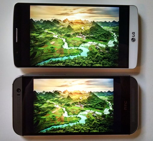 LG G3, HTC One M8 - Quad HD, 1080p Display