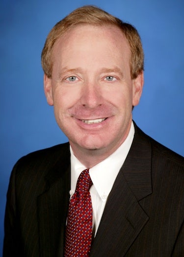Microsoft's general counsel and executive vice president Brad Smith