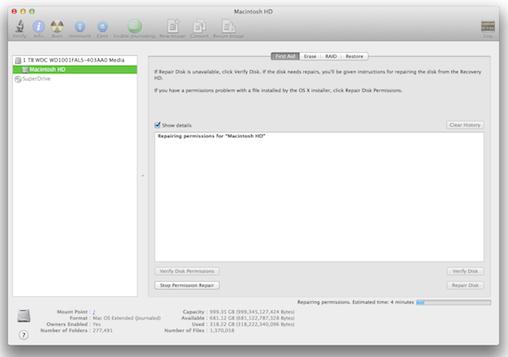 OS X Mavericks: How and why to Repair Disk | Computerworld