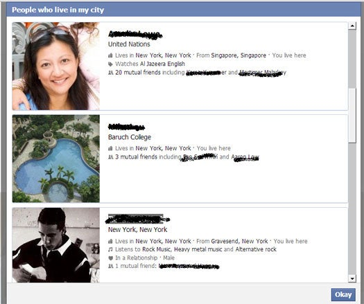 Facebook Graph Search may be a social engineering nightmare