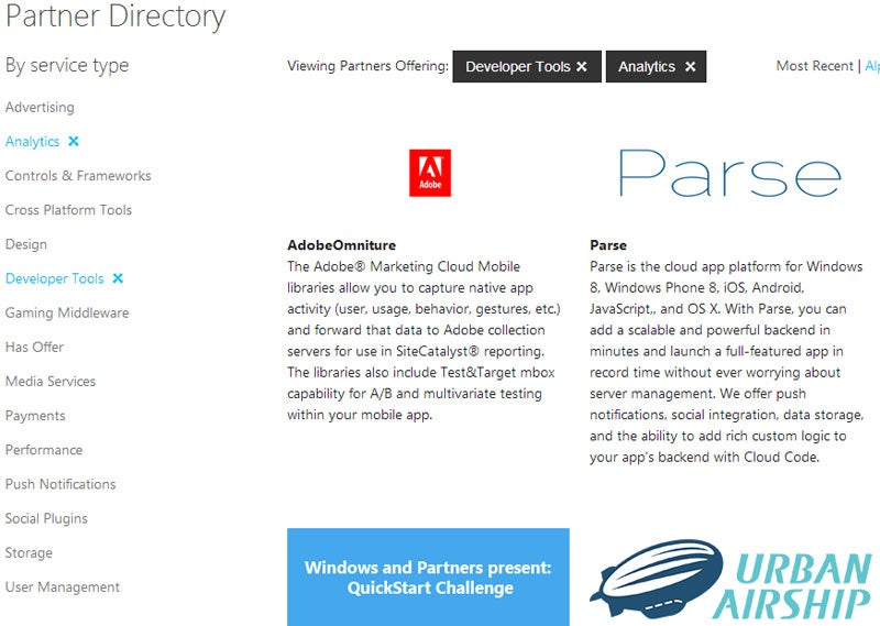 Microsoft flaunts its developer connections with new service directory