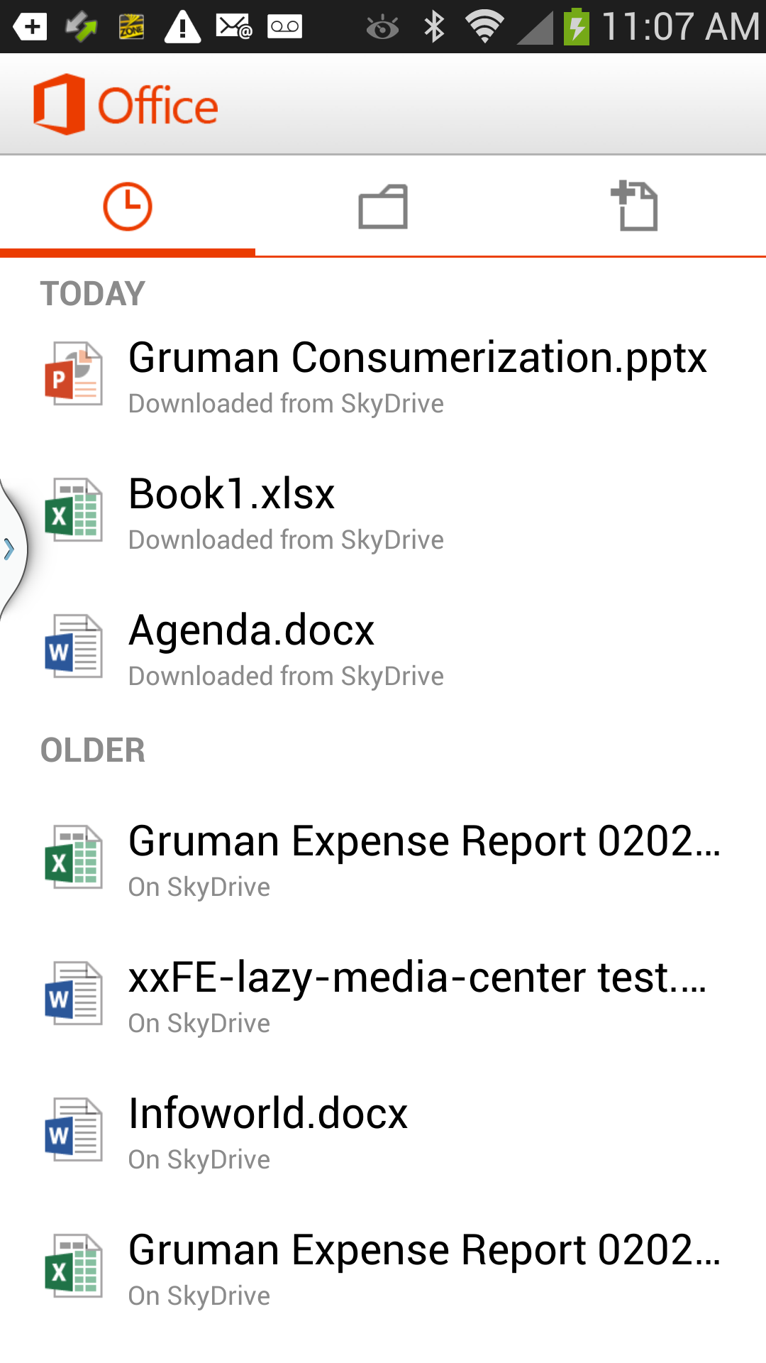 Microsoft Office for Android is pathetically bad, too