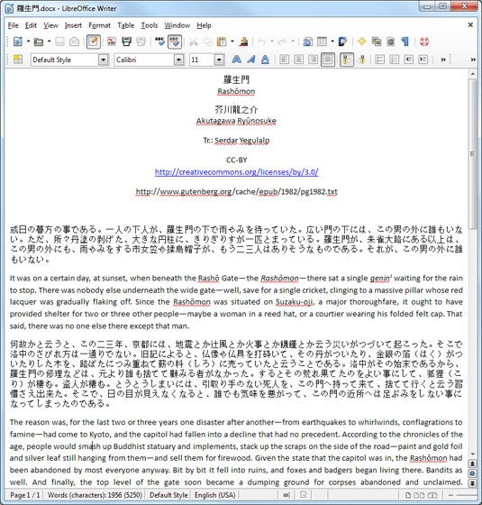 LibreOffice 4.1