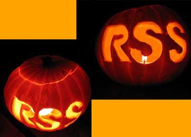 The great RSS pumpkin, Charlie Brown
