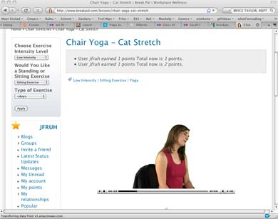 Yoga in your browser