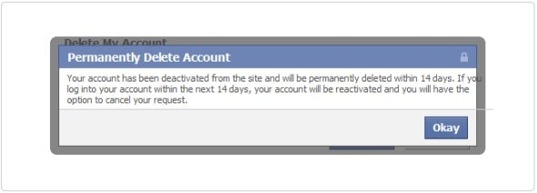 facebook deactivated not deleted