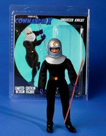 Commander X action figure