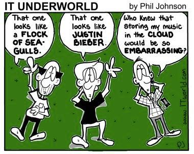 IT Underworld cartoon