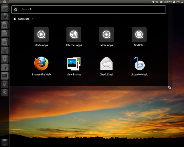 Ubuntu 11.04 search