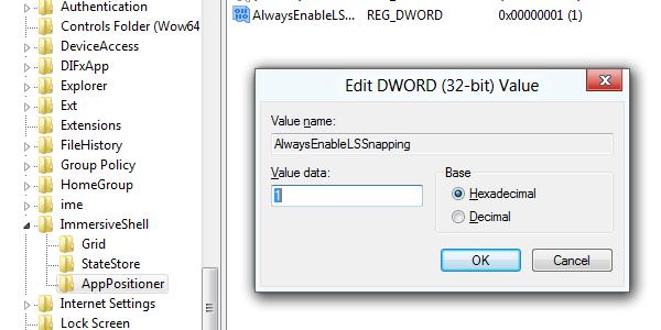 Windows 8 regedit