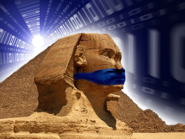 Egypt goes offline