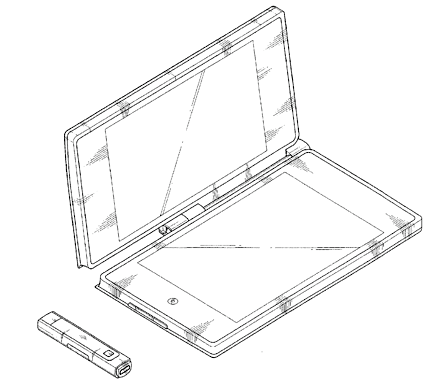 Patent drawings for possible Samsung dual-screen tablet