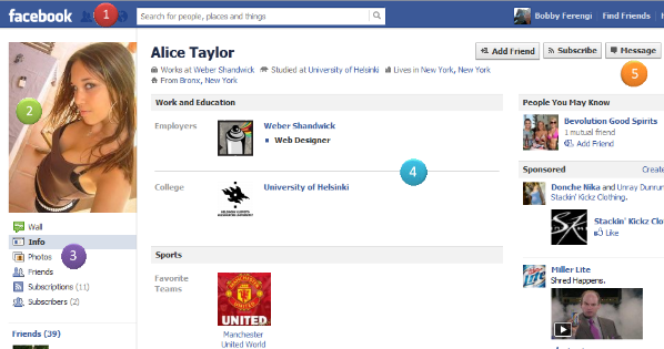 Facebook Fake Account Factors: signs that says Facebook ...