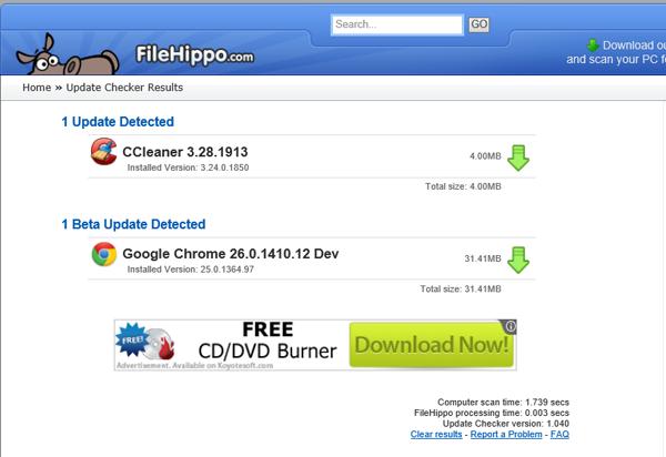 filehippo program updater