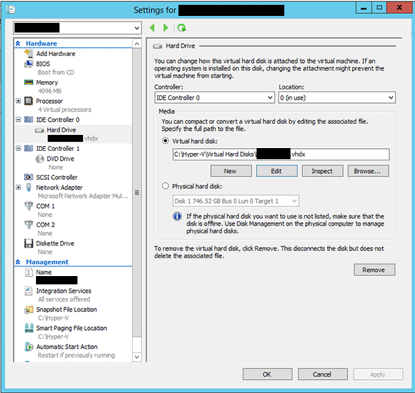 How to extend a linux virtual machine partition in Hyper-V | ITworld