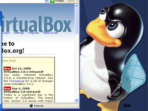 run Linux on Windows with VirtualBox