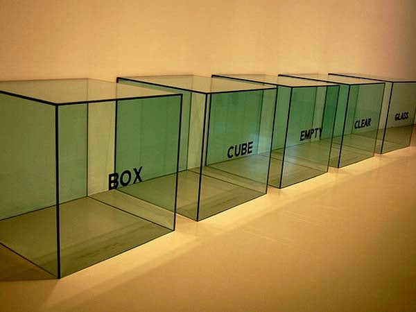 Box, Cube, Empty, Clear, Glass