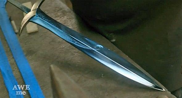 Real life diamond sword