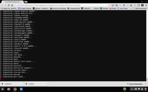 Installing Ubuntu with Crouton