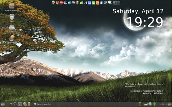 Makulu Linux 6 MATE