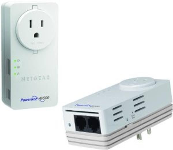 NetGear's Powerline 500Mbps 2-Port Adapter