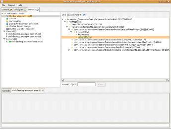 Terracotta server monitor