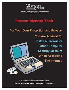 Internet safety sign