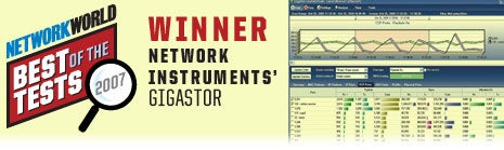 Network Instruments' GigaStor