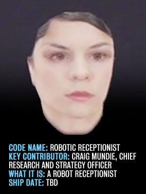 Robotic Receptionist