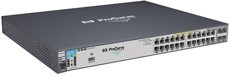 The HP ProCurve 2910