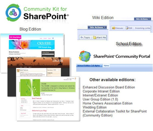 Community Kit for SharePoint