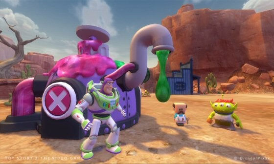 Toy Story 3 Games : Toy story video game will make you cry but not in that