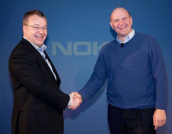 Picture of Steve Ballmer and Stephen Elop