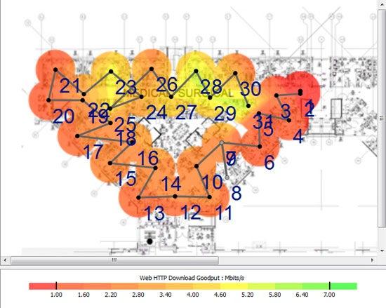 Verizon iPhone 4 heatmap