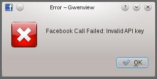 KDE App Banned Facebook