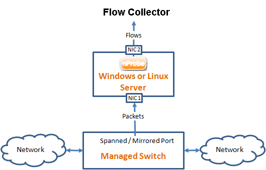 Netflow No Probe