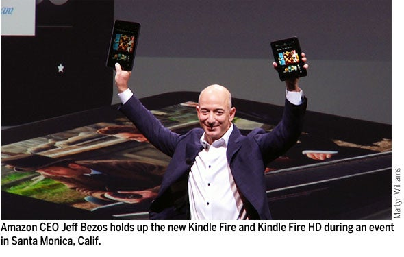 kindle fire amazon's heated battle for Article in january 2012, as jeff bezos reflected on the early sales success of amazon's kindle fire device, he was oddly troubled in a little over three months, amazon had sold nearly 5 million kindle fires and had captured half of the non-apple tablet market share.
