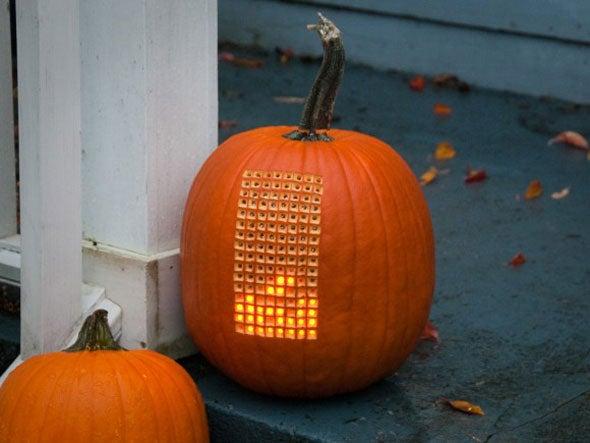 Pumpkin tetris
