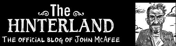 John McAfee blog