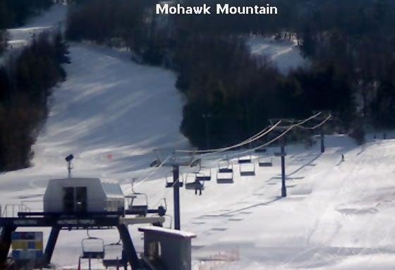 Mohawk Mountain ski lift