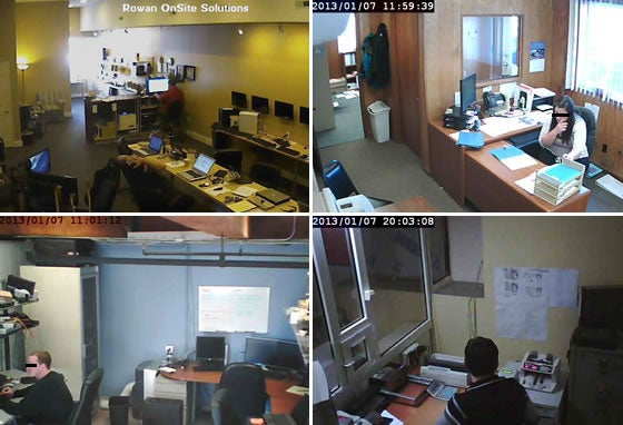 Spying on employees in offices, no password required