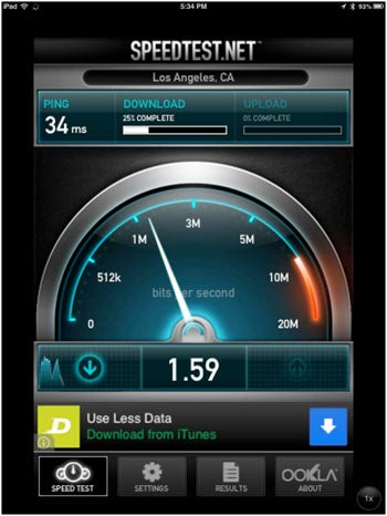 Ookla Speedtest.net for iOS