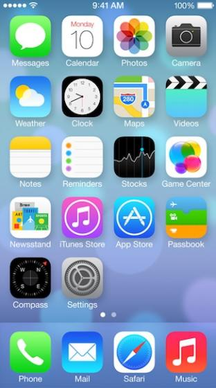 Apple S Ios 7 Icons Are Ugly And A Step Backwards Network World